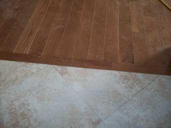 Image Of Room Floor Transition Flooring Help Strips Hardwood Engineered Vinyl Lowes