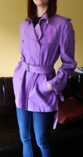 014b078970af Purple Purple Purple London Burberry Size Coat Coat Coat US10 Trench eBay  Womens aZaqFwzv