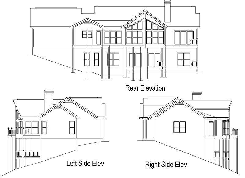 Plan 26634gg Delightful Mountain Ranch Home Plan Ranch House Plans House Plans Ranch House