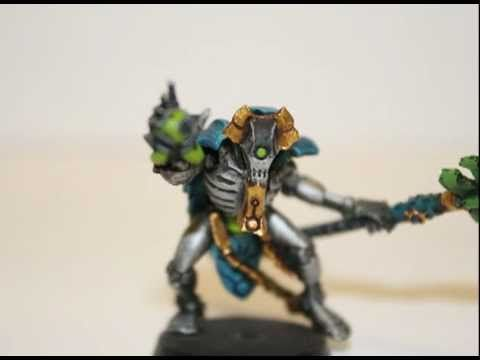 youtube how to paint a necron