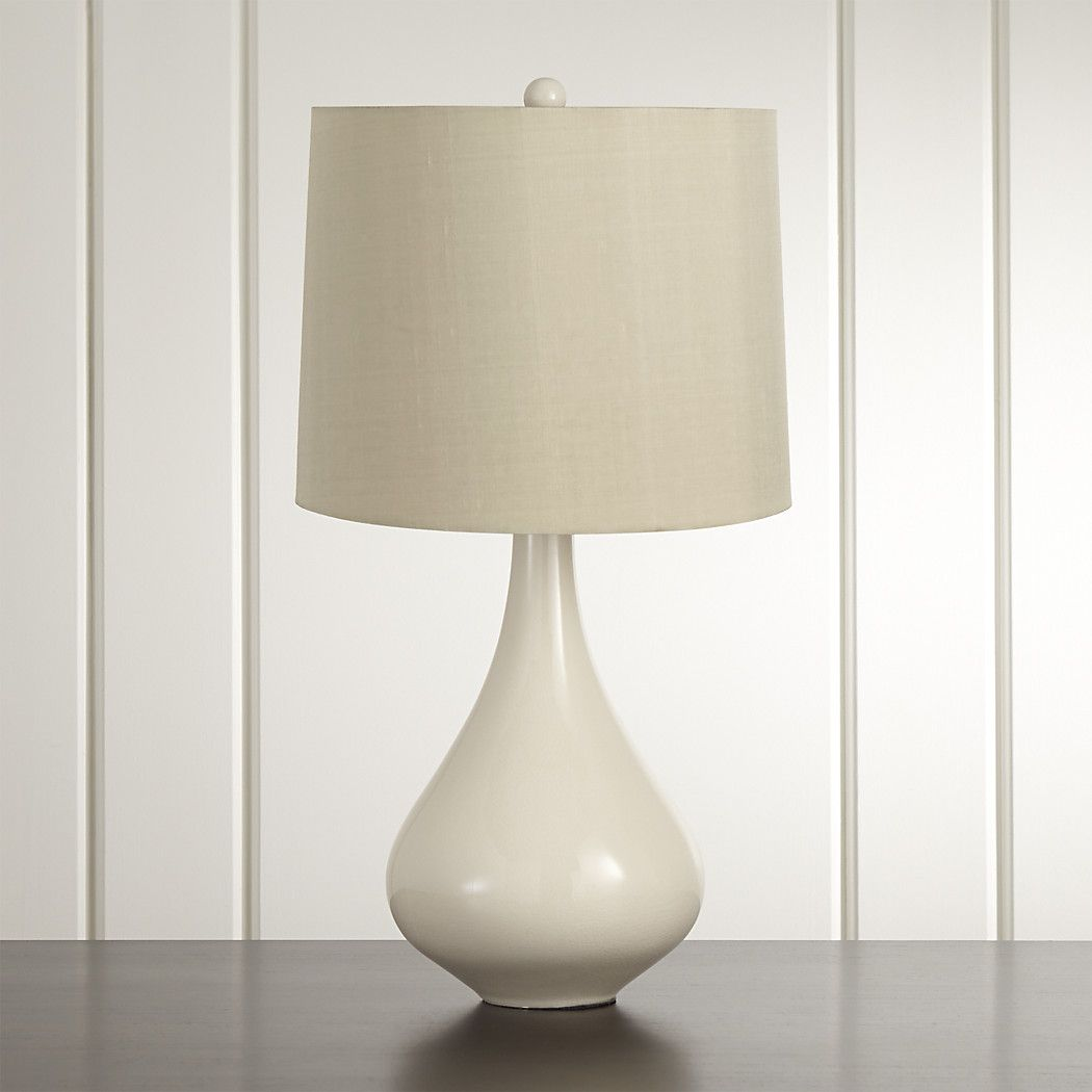 Kathryn Ivory Table Lamp + Reviews Crate and Barrel in