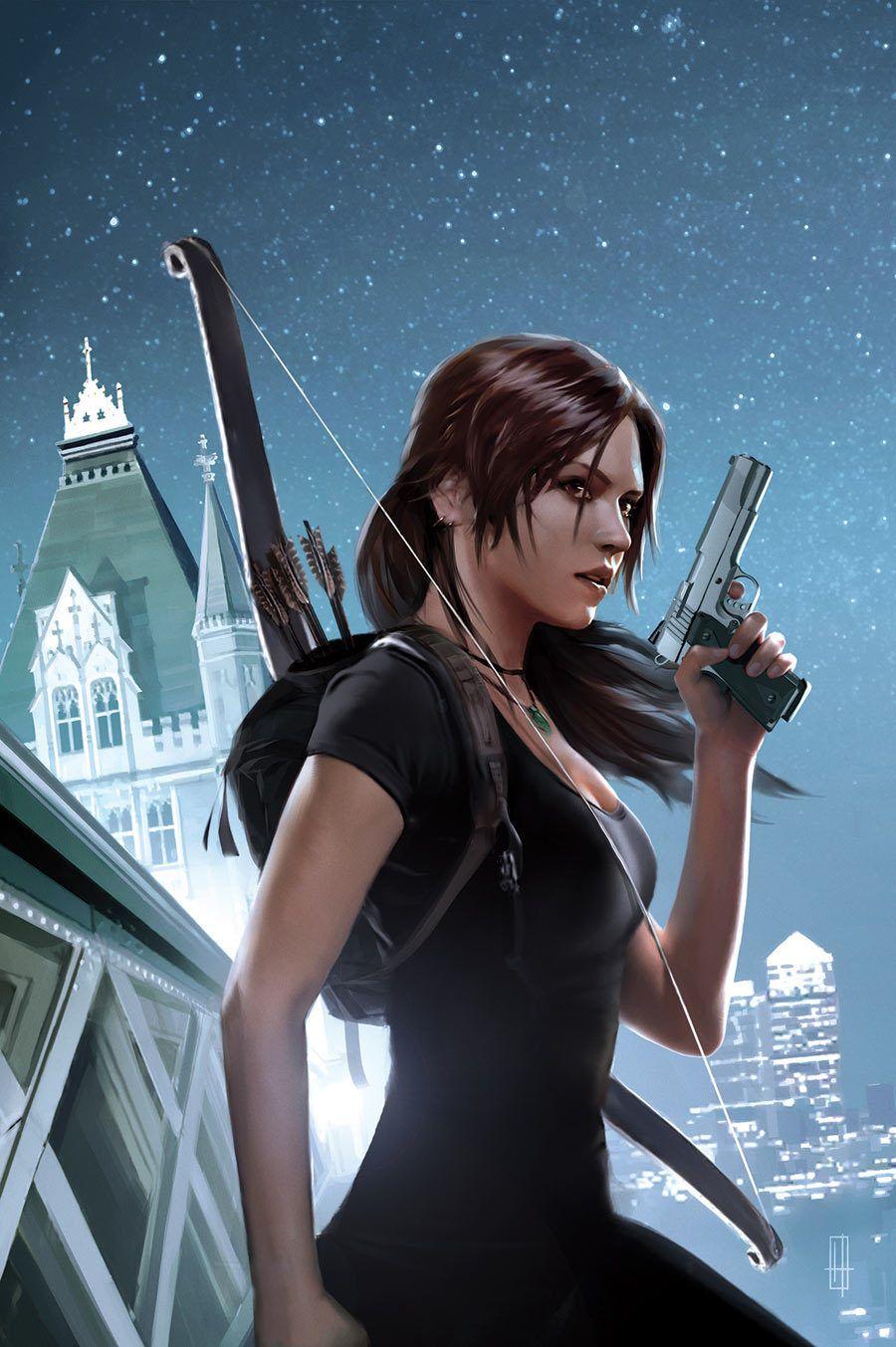 Young Lara Croft Tomb Raider 12 By Brian Horton Tomb Raider
