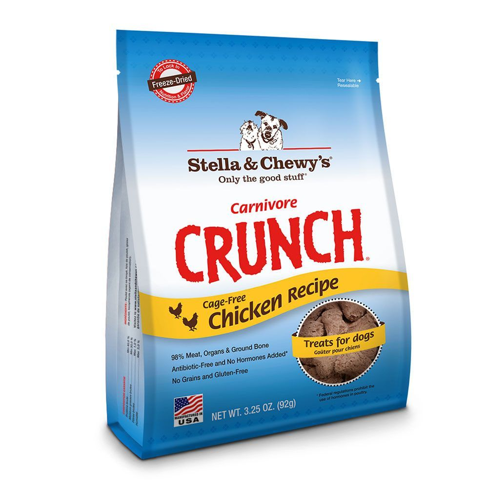Holistic Dog Treat Stella and Chewy's Carnivore Crunch