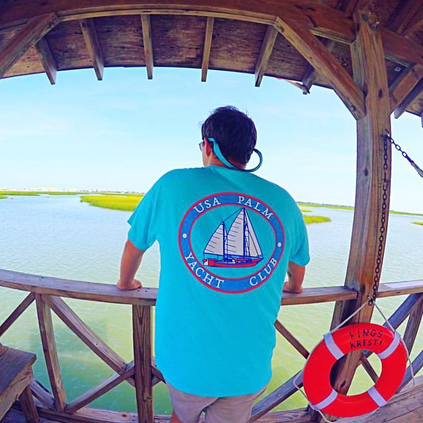 What a great day to be on the water. This is one of our awesome representative Enjoying the Palm Life! Like this picture if you wish you were there right now!