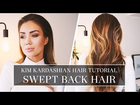 Tutorial How To Create Edgy Slicked Back Hairstyle Youtube Hair Tutorial Wet Look Hair Swept Back Hair