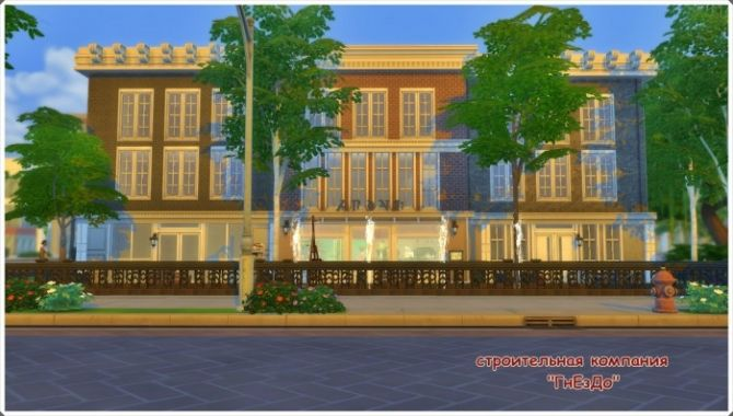 Daisy Flower shop at Sims by Mulena via Sims 4 Updates