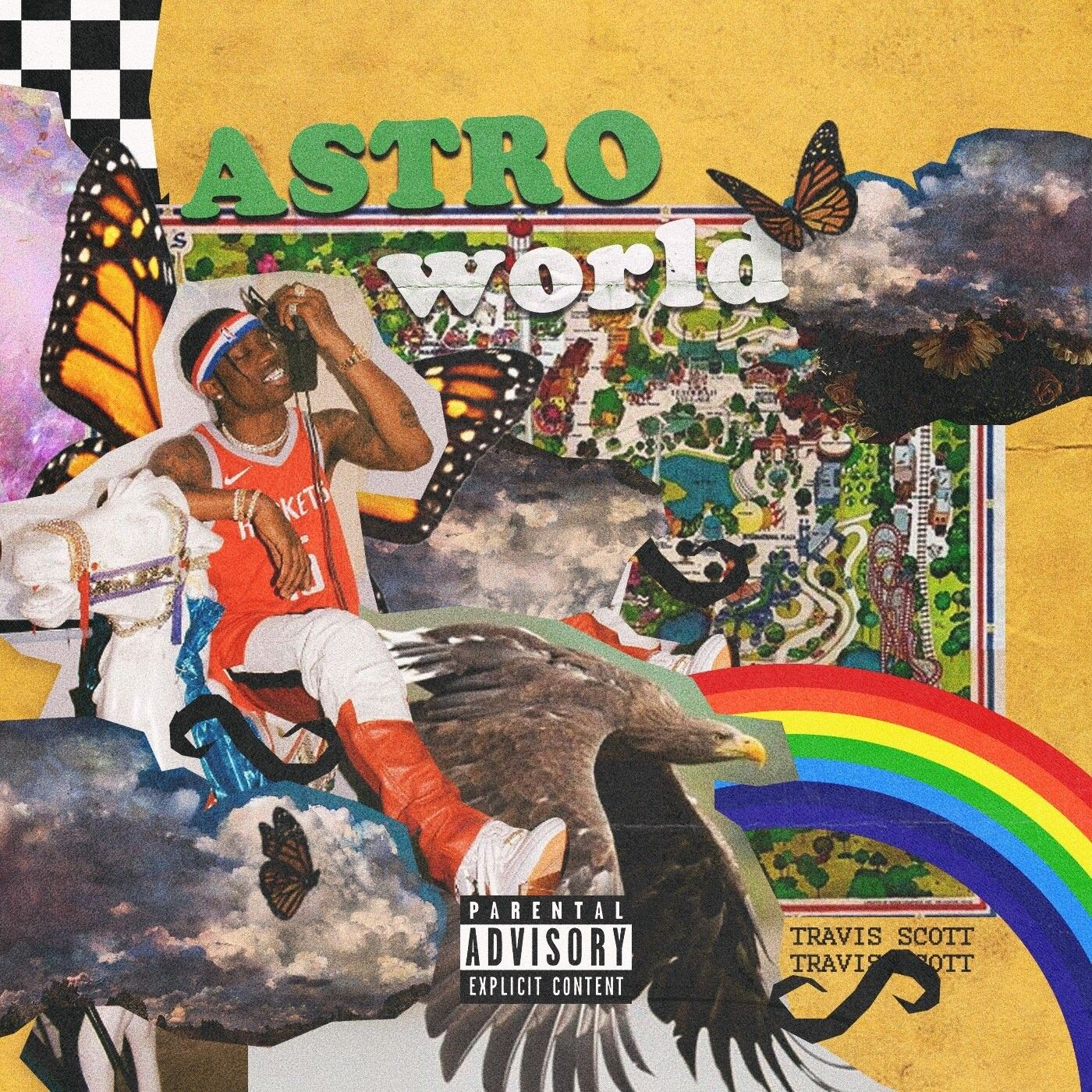 Travis Scott Album Art Design Album Cover Art Cover Art Design