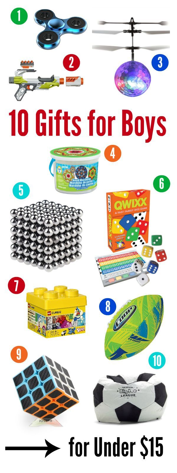 10 Best Gifts for a 10 Year Old Boy for Under $15 | Gift Ideas ...