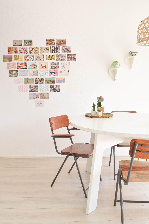 Stylen met kaarten doe je zo | muurdecoratie | Pinterest - Kaarten ...