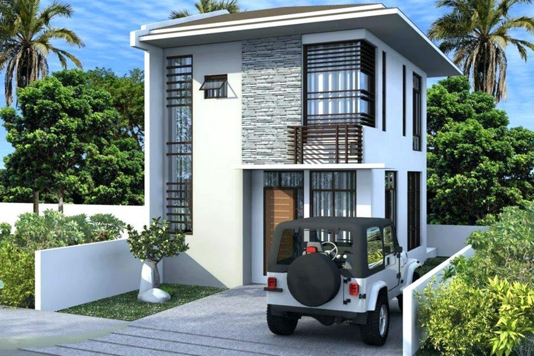 Small Two Storey House Design In 2020 2 Storey House Design Two