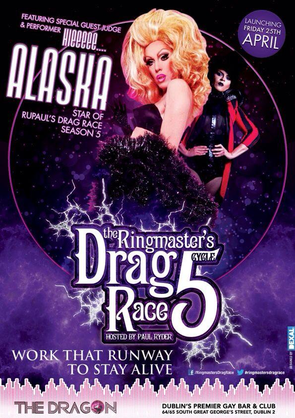 The Ringmaster S Drag Race Cycle 5 Feat Alaska Club Poster Ringmaster Alaska