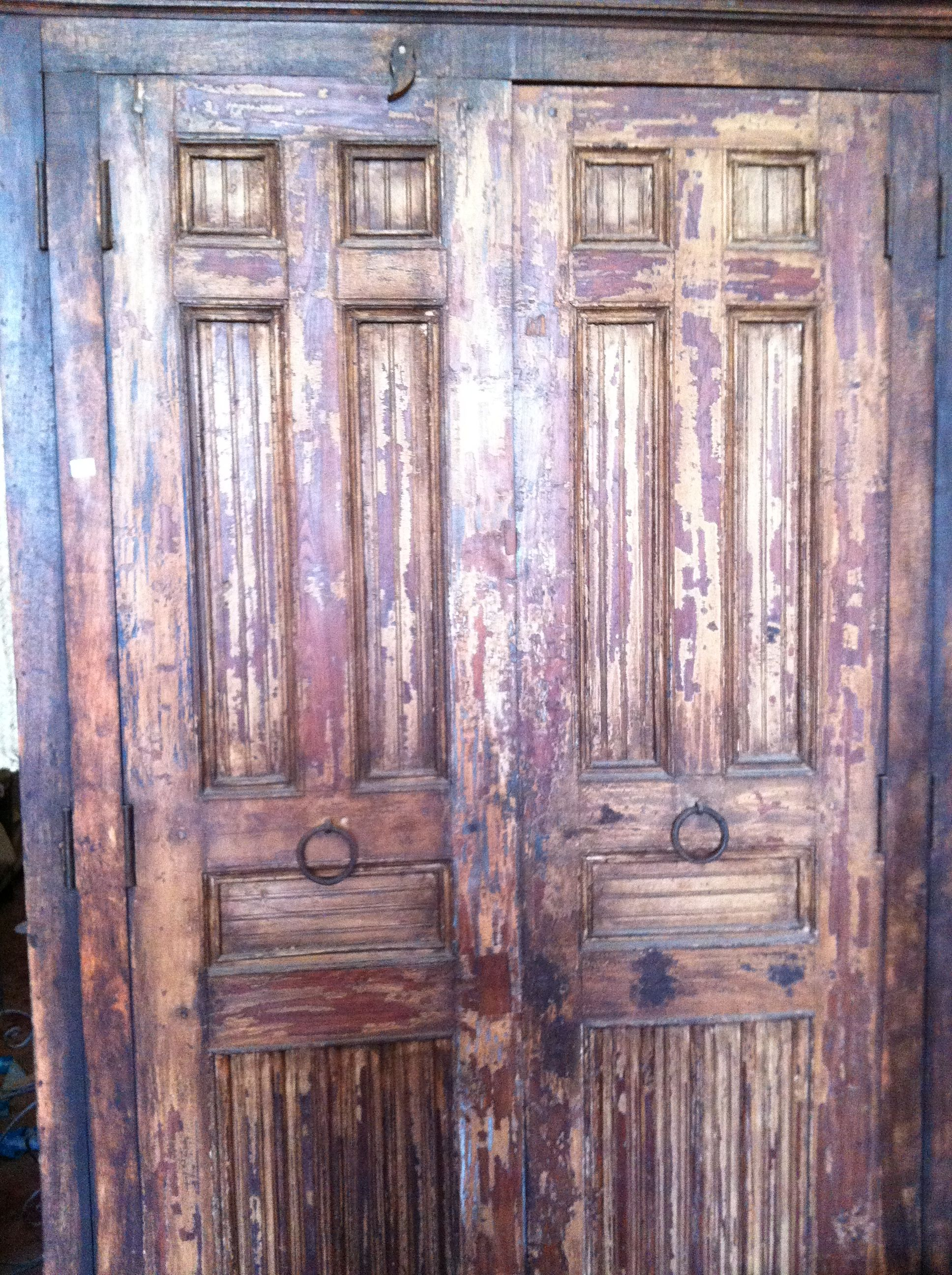 Armario Puertas Antiguas Almamed Artesan A Marroqu Pinterest  # Saqqara Muebles Y Decoracion
