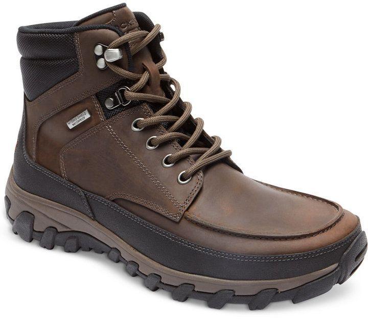 6b20425aedcb Rockport Men s Cold Springs Plus Moc Waterproof Boots Men s Shoes ...