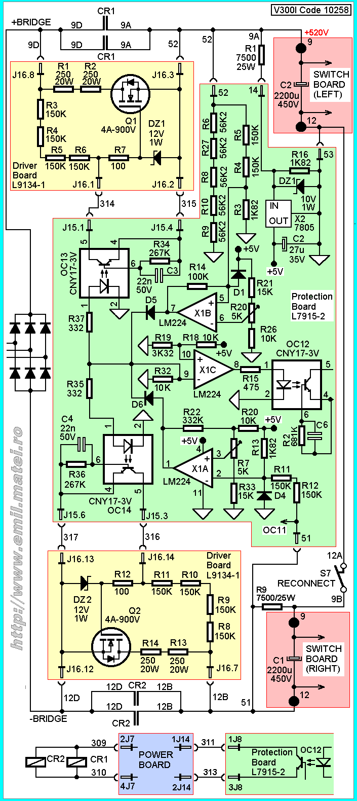 soft start circuit schematic elektronika pinterest electronic