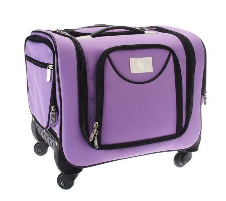 Weekender Bag With Snap In Toiletry Case By Lori Greiner Qvc Com