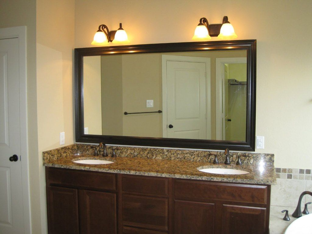 Oil Rubbed Bronze Mirrors Bathroom The Old With Large Frames Ostentatious
