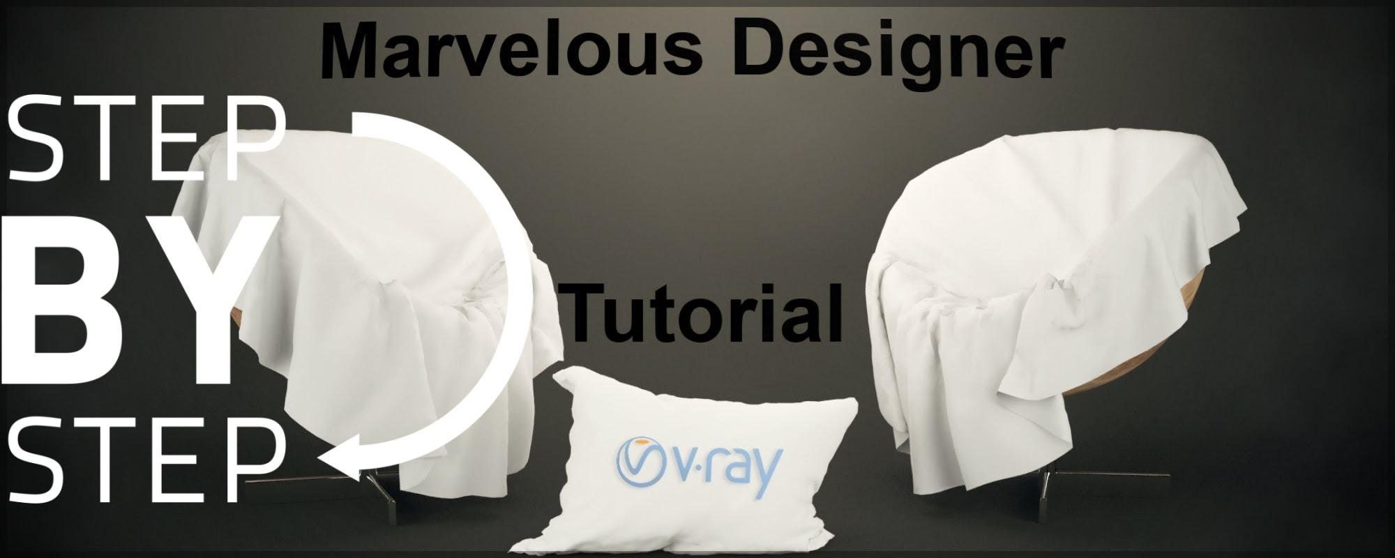 Marvelous Cloth Designer Tutorial [Beginner]