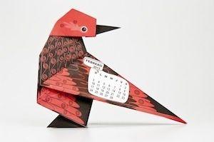 Libros Tin Marin, Calendario Origami