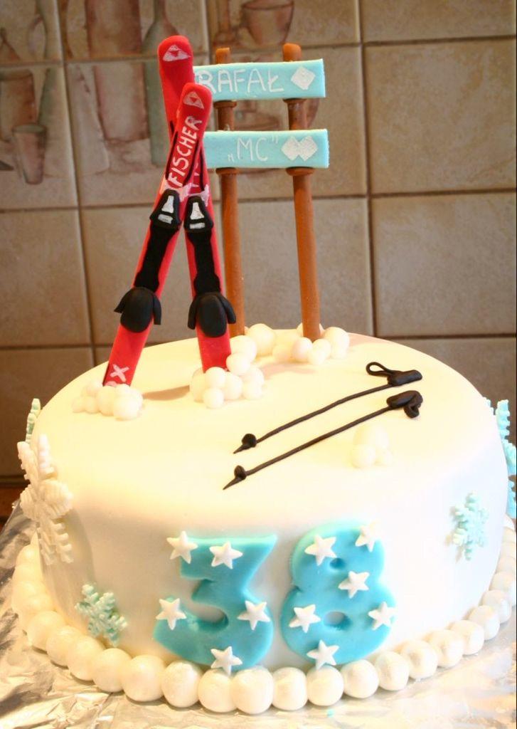 Narty Torty Urodzinowe Dla Doroslych Artystycznie Dekorowane Torty Warszawa Bloog Pl Birthday Cake Cake Desserts