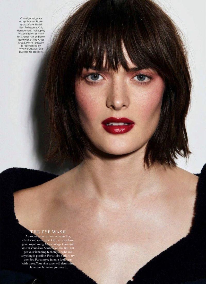 Sam Rollinson | Harper's Bazaar Australia | Chanel Makeup Editorial