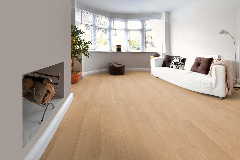 Lieblingsorte schaffen mit Floorwell  Laminatboden, Weißer