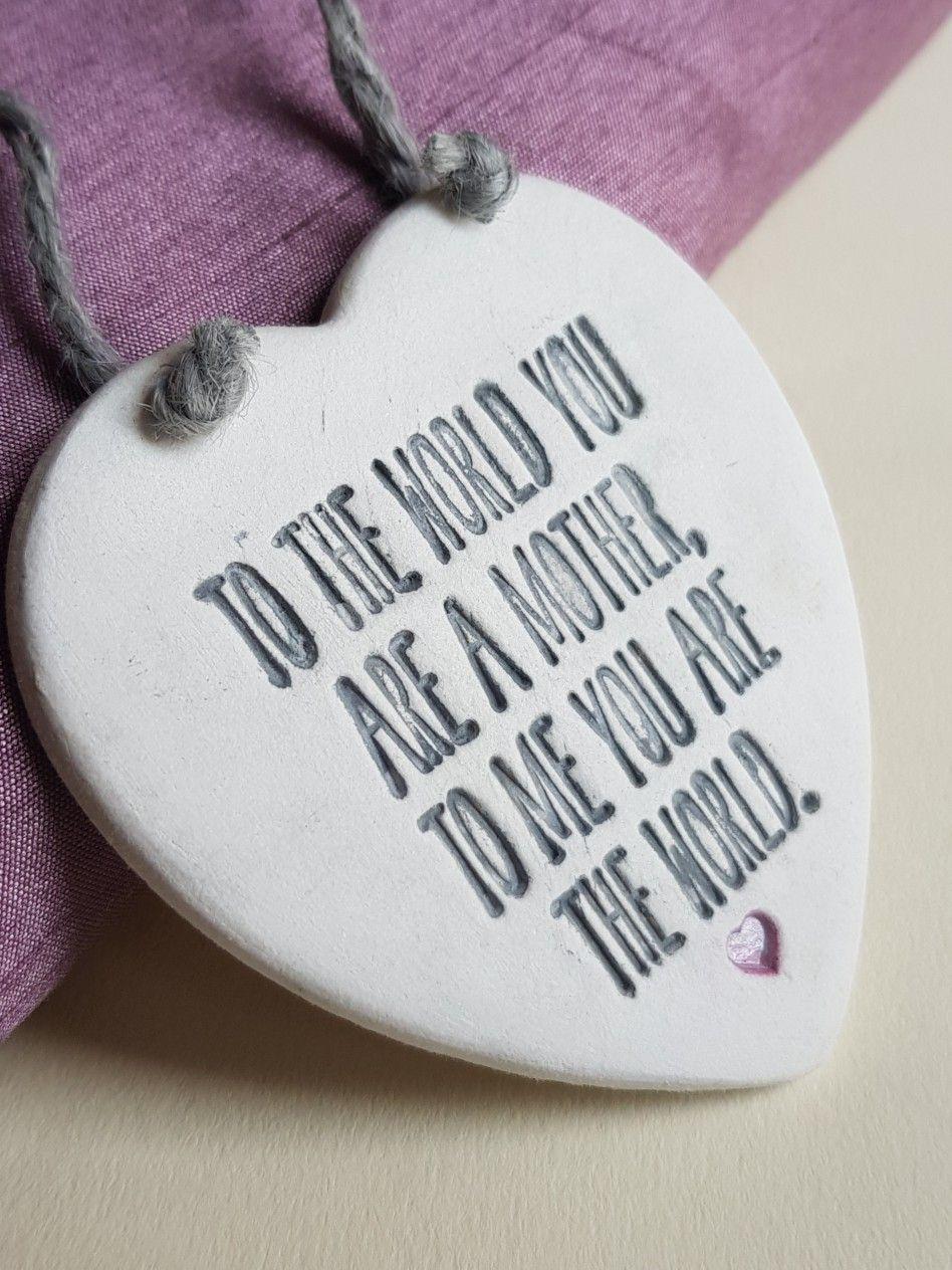 Gift for mother handmade keepsake for mum mother gifts