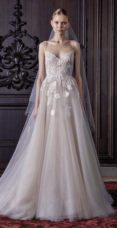 Monique Lhuillier wedding dress at Metal Flaque in Paris, France ...
