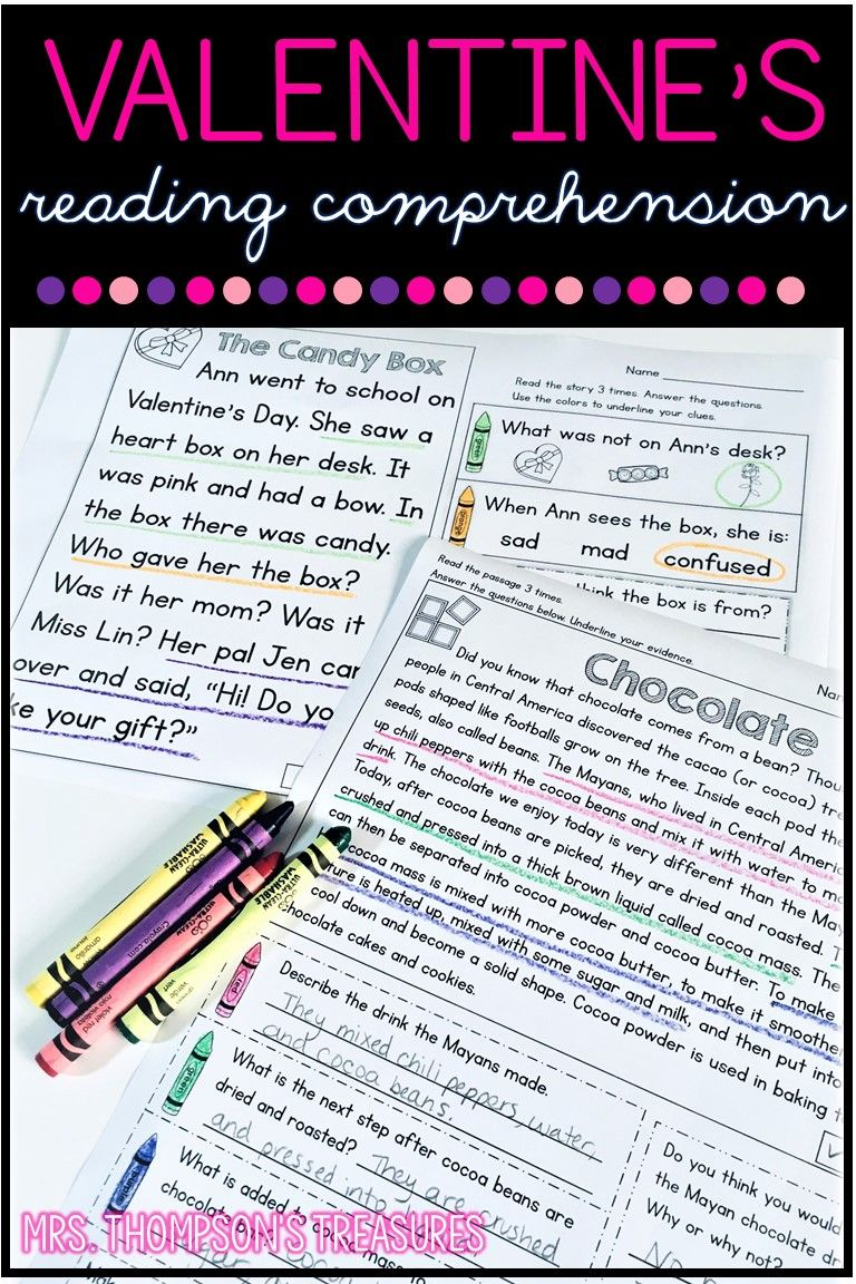 Valentine S Day Reading Comprehension For K 4 Classroom Freebies Valentines Reading Activities Valentine Reading Reading Comprehension Worksheets [ 1152 x 768 Pixel ]
