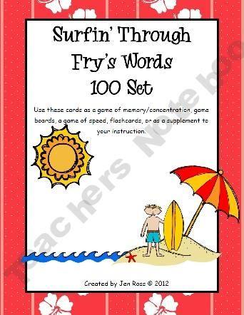Surfin' Through Fry Words