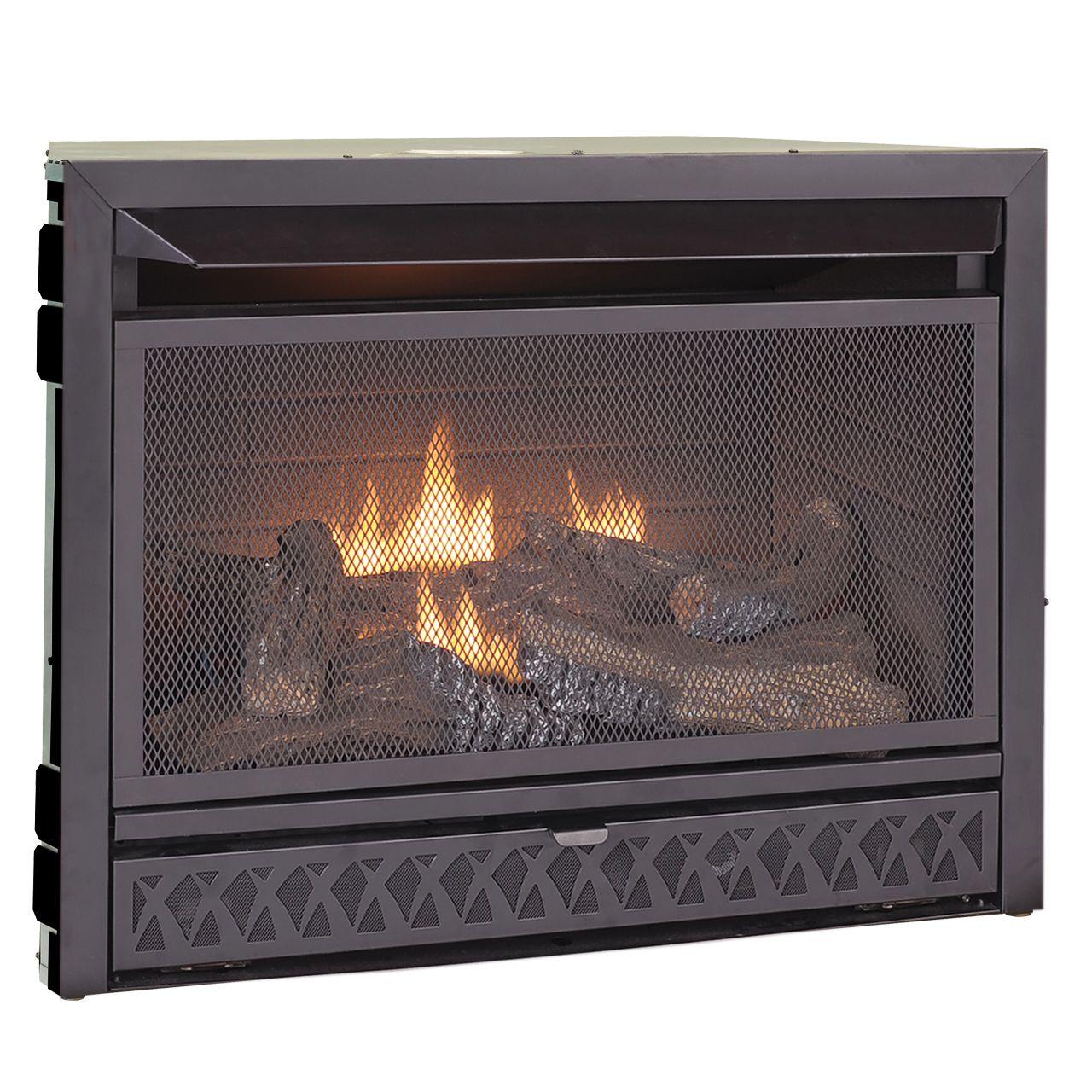 Procom Ventless Fireplace Insert Model Fbnsd28t Vent Free Gas