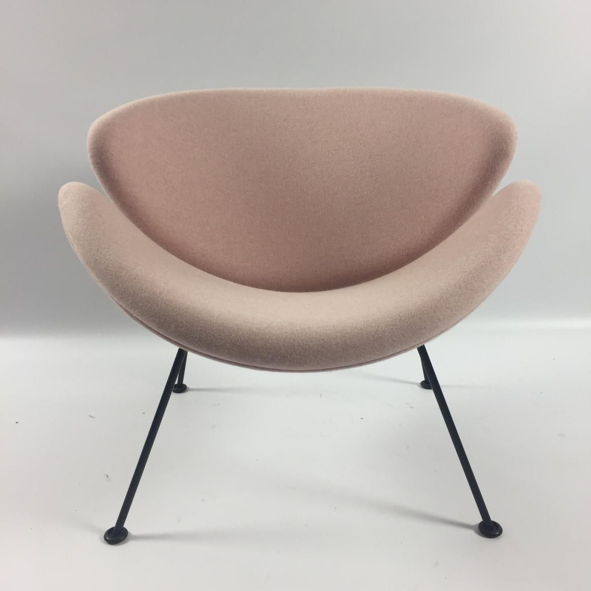 Design Salontafel Artifort.Vintage Orange Slice Lounge Chair In Pink By Pierre Paulin For
