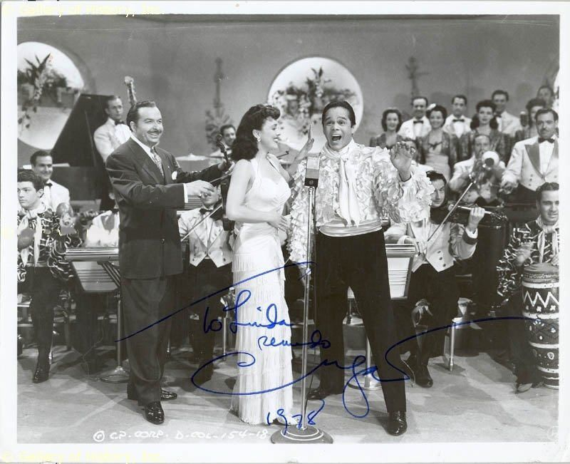 Xavier Cugat and His Orchestra  in '' You Were Never Lovelier''  1942