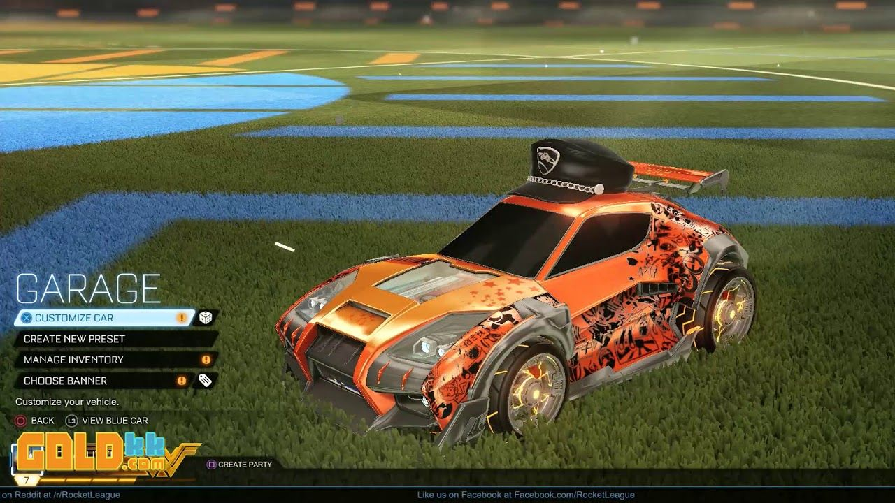 Best Rocket League Car Designs With Fewer Keys Budget RL