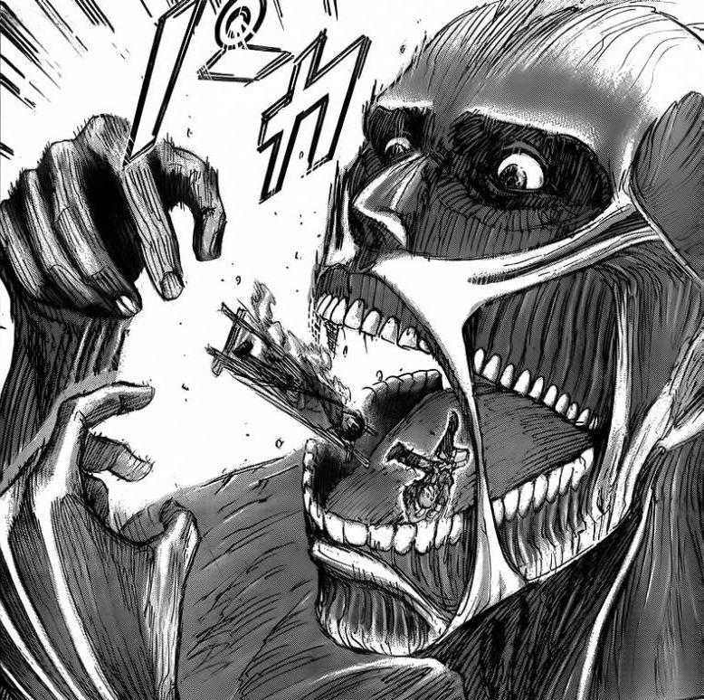 Colossal Titan Captures Ymir 【Shingeki No Kyojin】