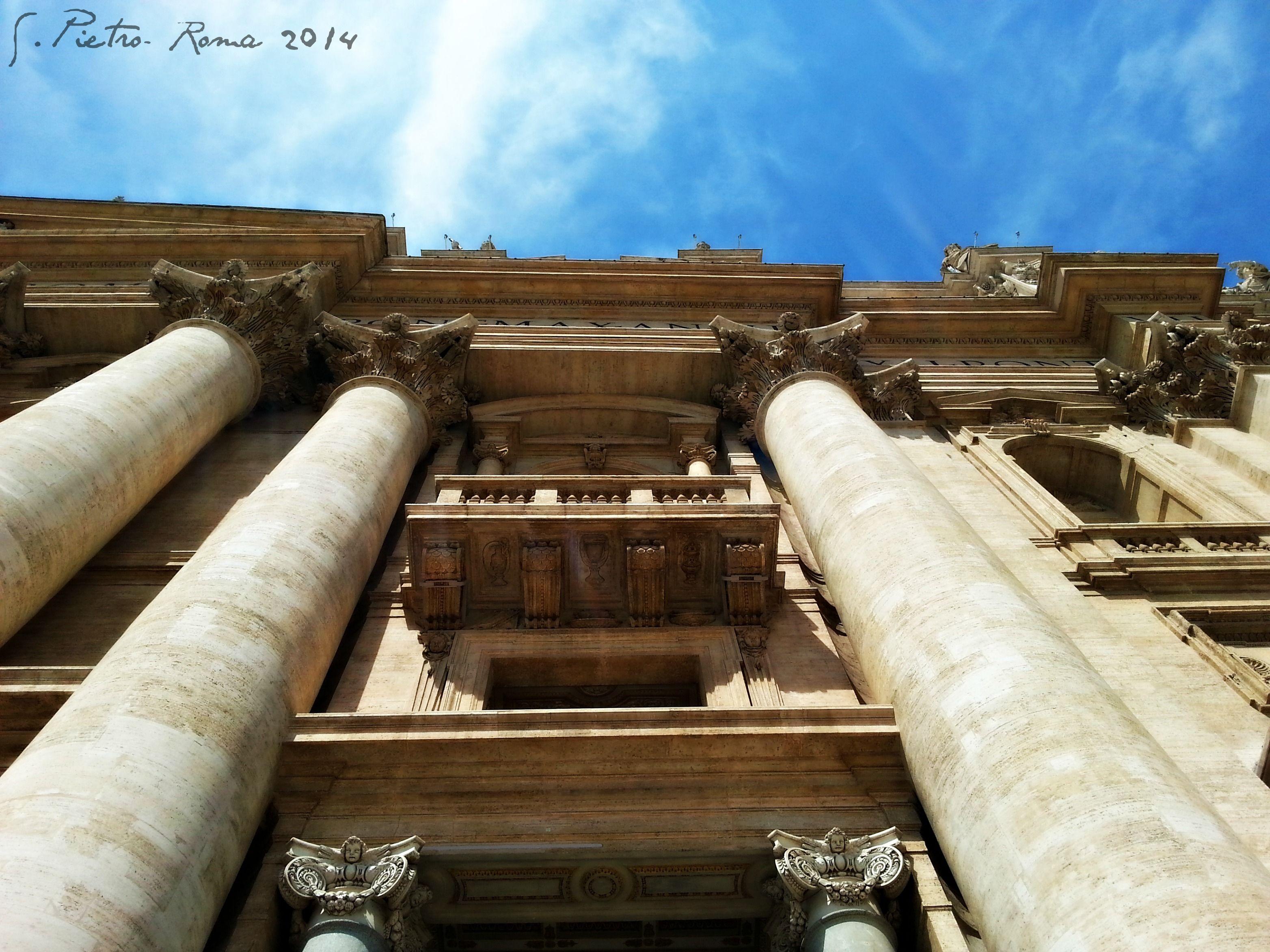 Basilica di San Pietro in Vaticano in Città del Vaticano- entrance