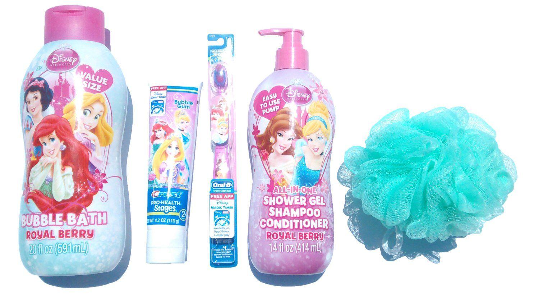 315dbe54090f8 Disney Princess Bubble Bath Set Make bath time fun for your little ...