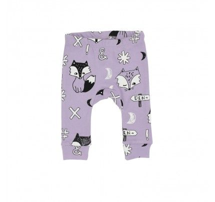 Fox Dreaming DC Pants from Milk & Masuki's AW16 collection.  Available at www.babydino.com.au