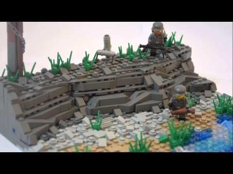 LEGO WW2 MOC ww2 mocs Pinterest