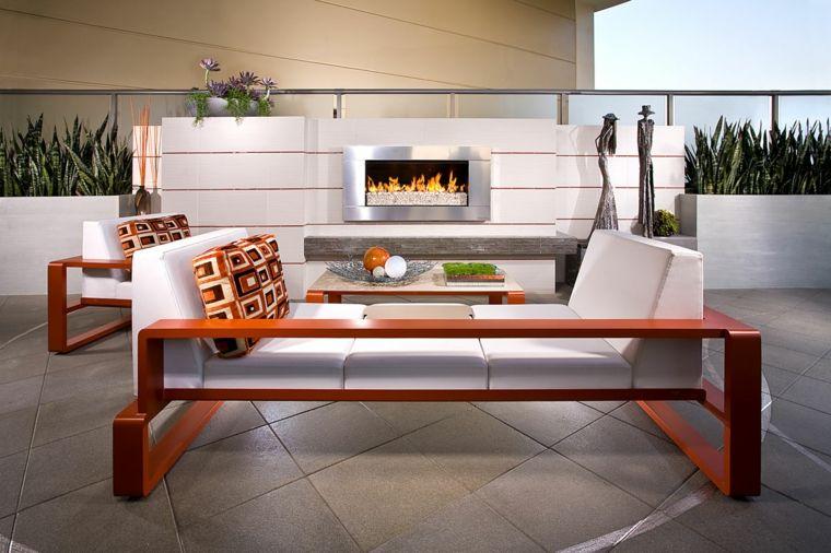 muebles de terraza y jardín decoración moderna