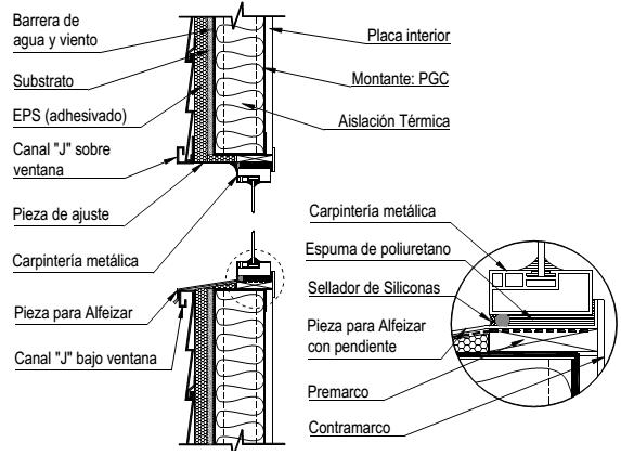Construccion Con Acero Liviano 11 4 Siding Vinilico Consul Steel Detalles Constructivos Construccion En Seco Steel Framing