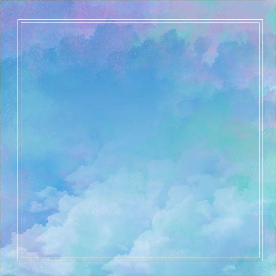 淺藍水彩 藍紫背景 輕盈藍色背景 雲霧水彩背景 배경 수채화 배경 예쁜 월페이퍼