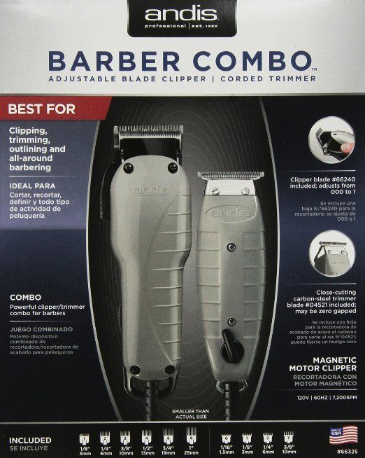 1146769fc Andis Barber Combo-Powerful Clipper and Trimmer Combo Kit - Southern Breeze  Imports - 1