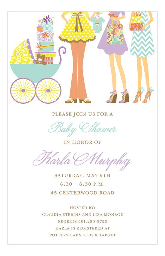 San Lori Invitations Baby Sprinkling Invitation Polka Dot Design