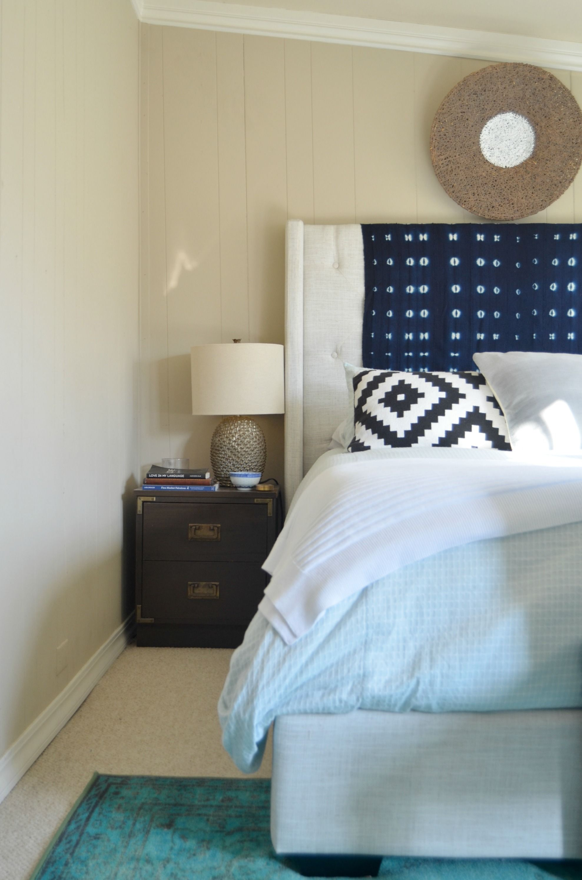 The cure for the common headboard The