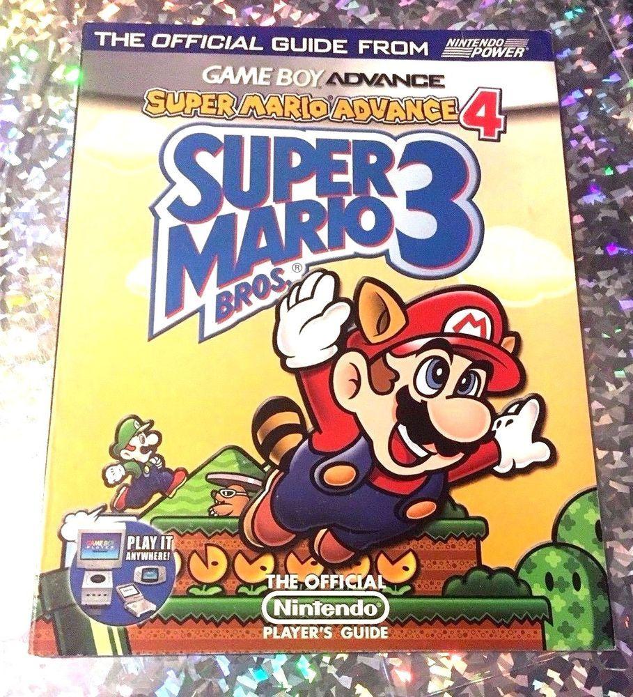 Super Mario Bros 3 Advance 4 Game Boy Nintendo Power Strategy