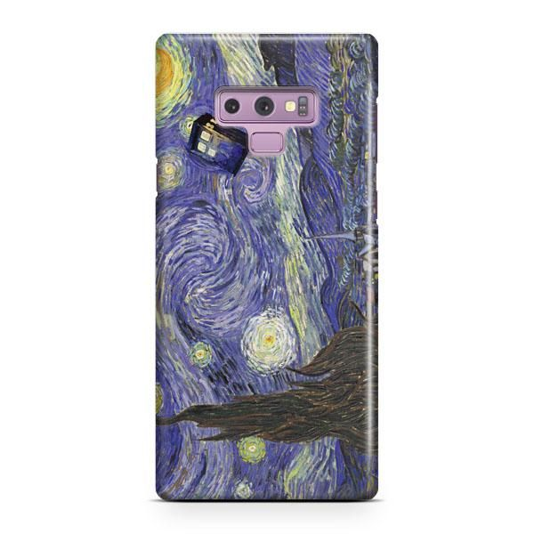 44a52ae27c27 Dr Who Tardis In Van Gogh Samsung Galaxy Note 9 Case