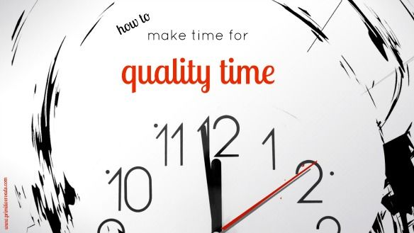 Is your spouse's love language quality time? This is for you... How To Make Time For Quality Time