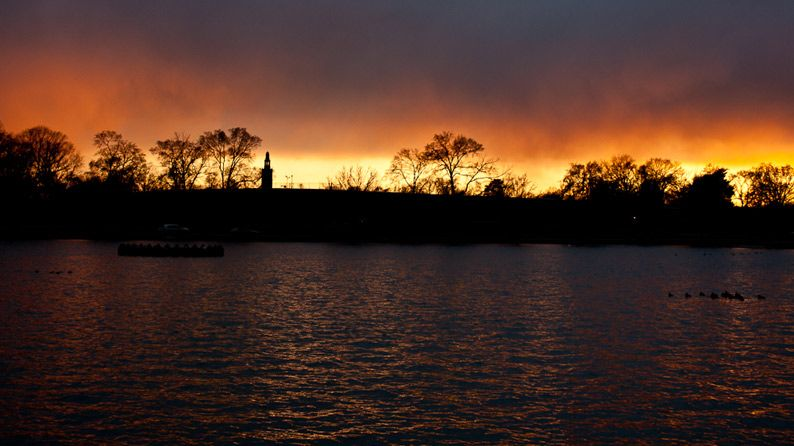 James river at sunset sunset james river river