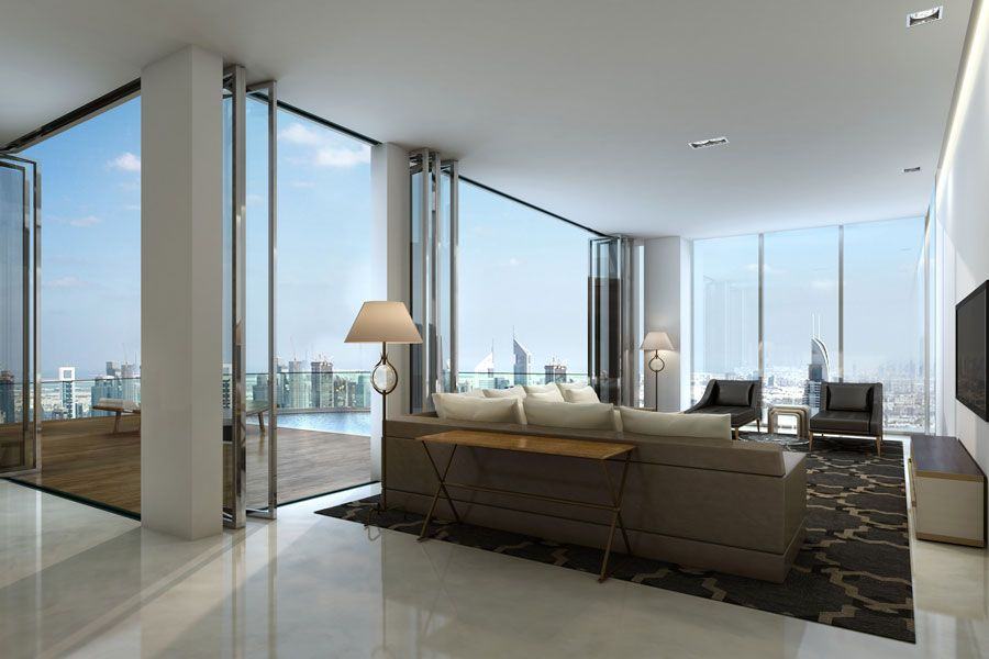 Luxury Residential Tower RP Heights Apartments In Downtown ...