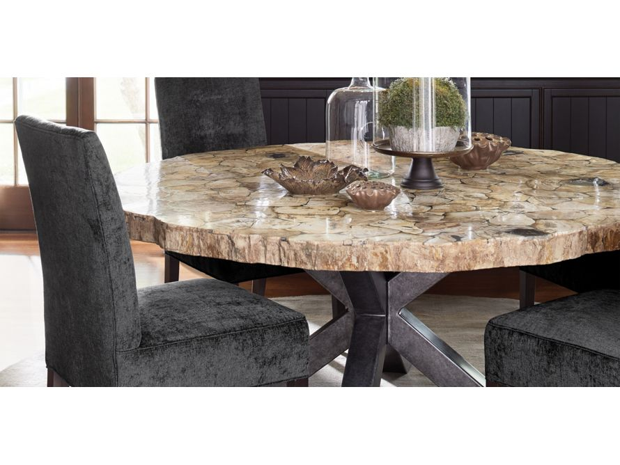 Petra 54 Round Century Marble Dining Table In White Wood Dining Room Table Round Marble Dining Table Dining Table